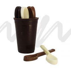 TIMBALE_gobelet_cuillères-chocolat_Noir_maison_maxime